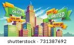 vector cartoon illustration ... | Shutterstock .eps vector #731387692