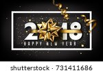 Vector 2018 Happy New Year...
