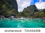 coron  philippines   apr 9 ... | Shutterstock . vector #731426308