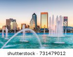 jacksonville  florida  usa and... | Shutterstock . vector #731479012