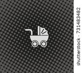 pram icon.   Shutterstock . vector #731483482