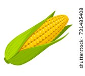 corn | Shutterstock .eps vector #731485408