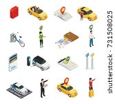 carsharing carpooling... | Shutterstock .eps vector #731508025