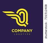 vector graphic elegant logotype ...   Shutterstock .eps vector #731512408
