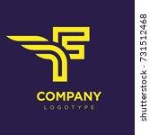 vector graphic elegant logotype ...   Shutterstock .eps vector #731512468