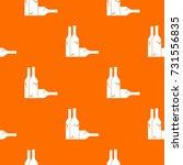 bottles pattern repeat seamless ... | Shutterstock .eps vector #731556835