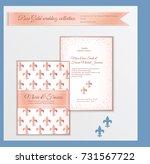 luxury wedding invitation... | Shutterstock .eps vector #731567722