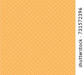 wafer style seamless pattern... | Shutterstock .eps vector #731572396
