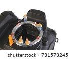 miniature action figure workers ...   Shutterstock . vector #731573245