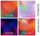abstract creative concept... | Shutterstock .eps vector #731586352