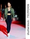 fashion models represent... | Shutterstock . vector #731592436