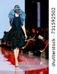 fashion models represent... | Shutterstock . vector #731592502
