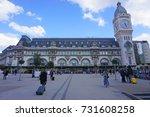 paris  france  27 mar 2017 ... | Shutterstock . vector #731608258