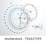 engineering technological... | Shutterstock .eps vector #731617195