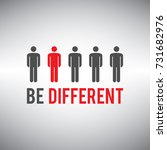 be different being different