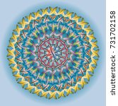 new colorful sewing mandala for ...