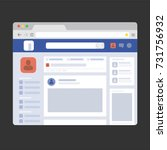 Facebook Web Page Browser ...