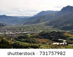 view of a part of valsugana.... | Shutterstock . vector #731757982