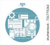 flat design vector illustration ... | Shutterstock .eps vector #731775262