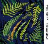 seamless texture of watercolor...   Shutterstock . vector #731817862