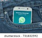 montreal  canada   september 28 ... | Shutterstock . vector #731832592