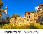 city landscape   orthodox... | Shutterstock . vector #731848792