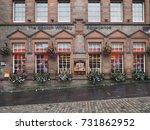 edinburgh  september 2016   the ... | Shutterstock . vector #731862952