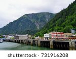 scenic view of the port of... | Shutterstock . vector #731916208