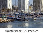 Yachts In Marina Of Tel Aviv ...