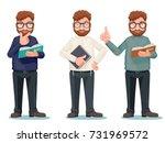 professor intellectual... | Shutterstock .eps vector #731969572