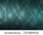 dark blue  green vector natural ... | Shutterstock .eps vector #731984926