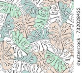 Tropic Seamless Pattern With...