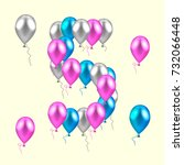 illustration. realistic colored ...   Shutterstock . vector #732066448