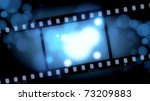 movies film blue light... | Shutterstock . vector #73209883