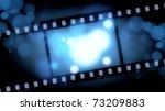 movies film blue light... | Shutterstock . vector #73209883