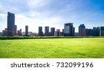 modern buildings in nantong | Shutterstock . vector #732099196