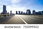 modern buildings in nantong | Shutterstock . vector #732099322
