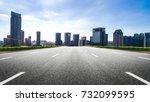 modern buildings in nantong   Shutterstock . vector #732099595