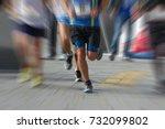 marathon runners in the race