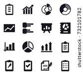 16 vector icon set   clipboard  ...