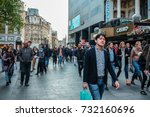 london  uk   april 30  2017 ... | Shutterstock . vector #732160696