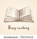 hand drawn vector illustration...   Shutterstock .eps vector #732174112