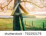 a rood along the way | Shutterstock . vector #732252175