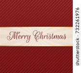 vector merry christmas...   Shutterstock .eps vector #732261976