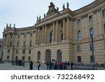 berlin germany 09 22 17  the... | Shutterstock . vector #732268492