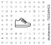 trainer icon. set of outline... | Shutterstock .eps vector #732269422
