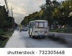Bus Driving On Kathmandu Ring...