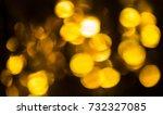 orange bokeh abstract background   Shutterstock . vector #732327085