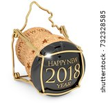 2018 New Year's Champagne Cap...