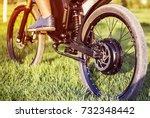 Man Biker Sitting On Electric...